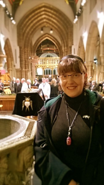 JCW in Leicester Cathedral